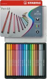 Pen 68 Set Metall Etui