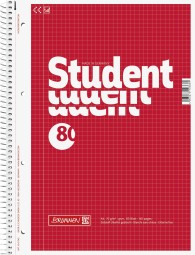 Collegeblock Student A4