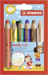 woody Buntstift Set