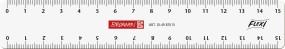 Lineal flexi 15 cm