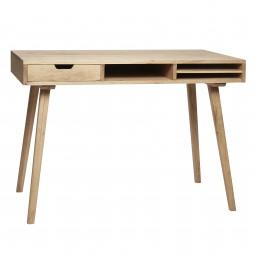Schreibtisch mit Fächern
