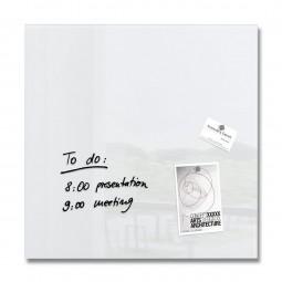 Glas-Magnetboard artverum weiß